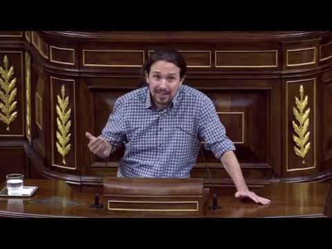 Intervenciones de Pablo Iglesias en la sesión de investidura a la presidencia del Gobierno.