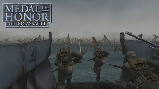 Medal of Honor: Allied Assault (PC) Omaha Beach/D-Day