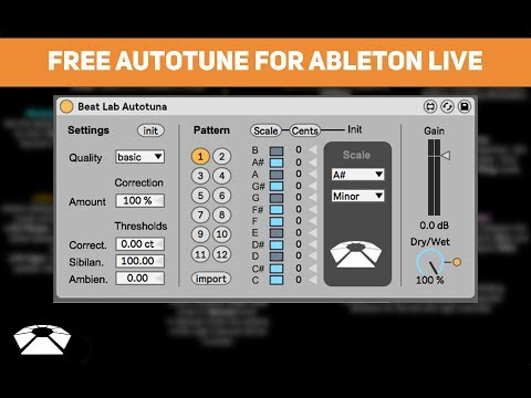 Free Autotune for Ableton live!!