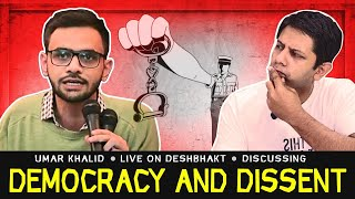 Umar Khalid on UAPA, Democracy & Dissent | Deshbhakt Conversations with Akash Banerjee