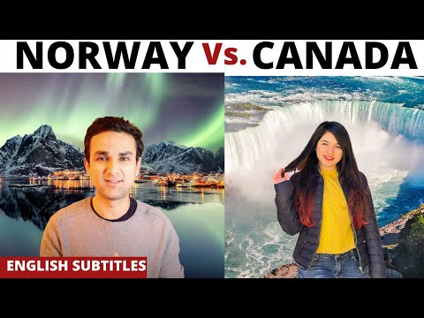 Canada vs Norway [WHICH COUNTRY SHOULD YOU CHOOSE?] Feat. @Tania Hemdev