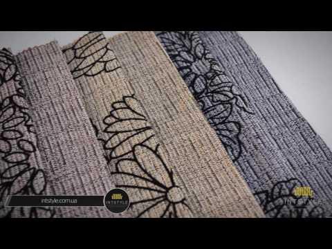 Мебельная ткань 78 от KMTex КМТекс микро-рогожка с флоком