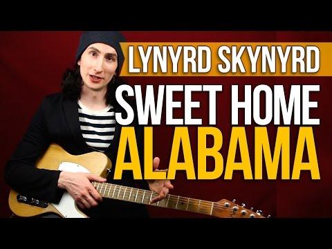 Как играть на гитаре Sweet Home Alabama - Lynyrd Skynyrd - Уроки игры на гитаре Первый Лад