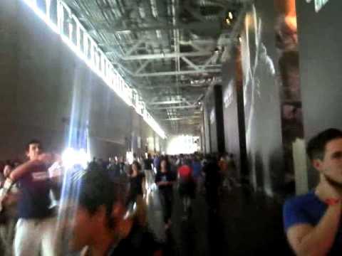 Gamescom -  La foule dans le couloir principal