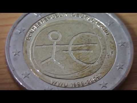 2 Euro special coin Germany - Sondermünze 10 Jahre WWU