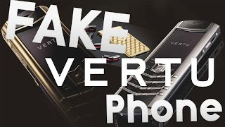 Cheap Luxury Vertu Mobile Phone clone