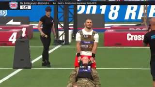 The 2018 CrossFit Games Battleground Men Heat 4