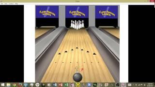 Flash Bowling Arcade Gameplay