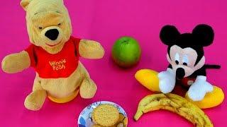 Мультики: Винни Пух и Мики Маус - Уроки Английского! Английский для детей: Тема еда на английском.(, 2015-04-16T04:13:15.000Z)