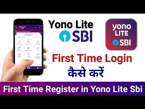 How To First Time Login Internet Banking Yono Lite Sbi | First Time Register On Yono Lite SBI