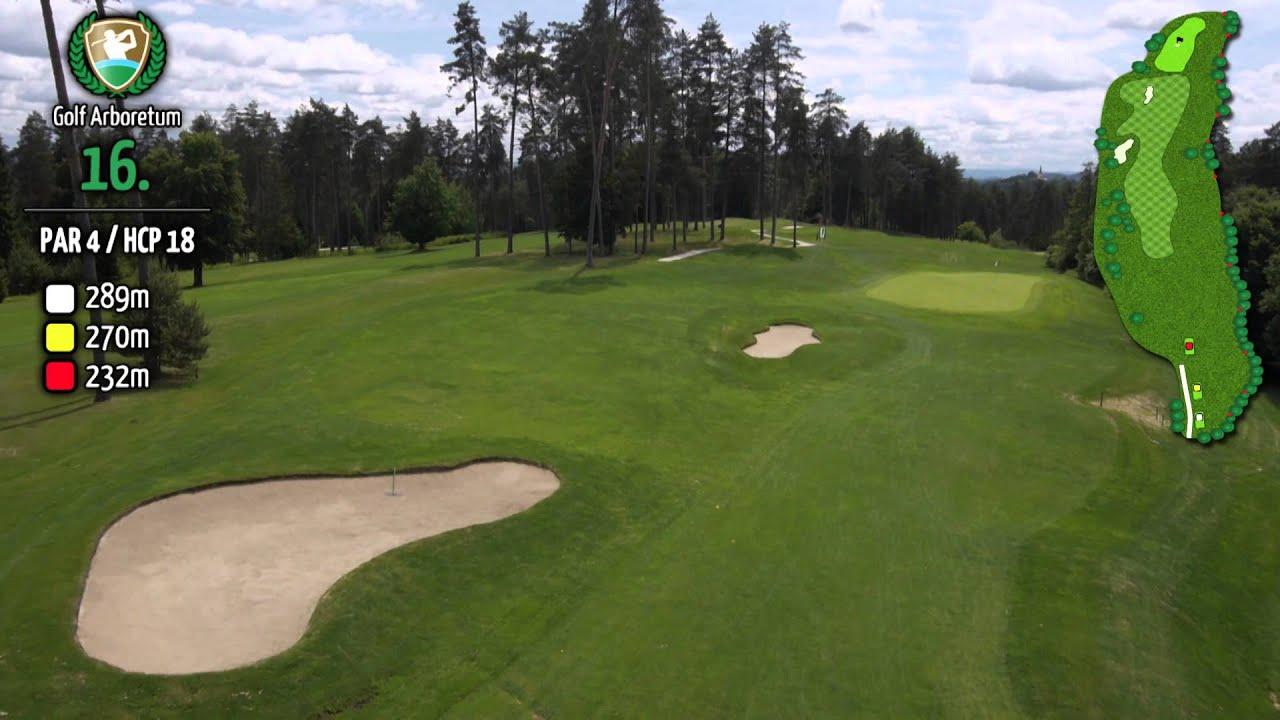 golf arboretum course slovenia ljubljana golf hole 16 par 4 youtube. Black Bedroom Furniture Sets. Home Design Ideas