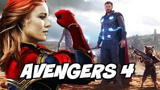 Avengers 4 Ending Explained by Kevin Feige and Details of Avengers Infinity War