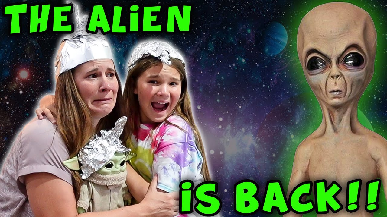 Aliens In The Woods Part 2! Can Baby Yoda Save Us!