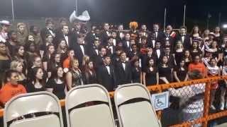 Texas City High School Choir Sings National Anthem