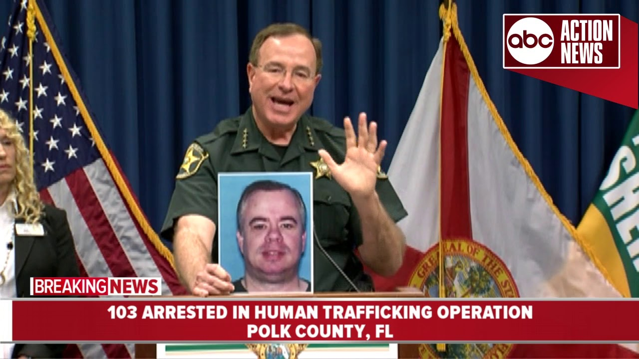 OPERATION NAUGHTY NOT NICE | 103 arrested for human trafficking in Polk County