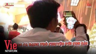 Trường Giang facetime cùng con gái cực dễ thương trong hậu trường quay show | ViePaparazzi