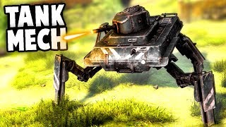 NEW TANK MECH! Skirmish Mode and New Units! (Iron Harvest Gameplay - Alpha 1)