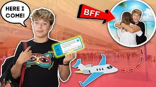 I Traveled 1,000 Miles To Find My BEST FRIEND **EMOTIONAL REUNION**✈️❤️ | Gavin Magnus
