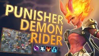 Combo Punisher Demon Undead Rider CHESS RUSH Combo punisher indonesia
