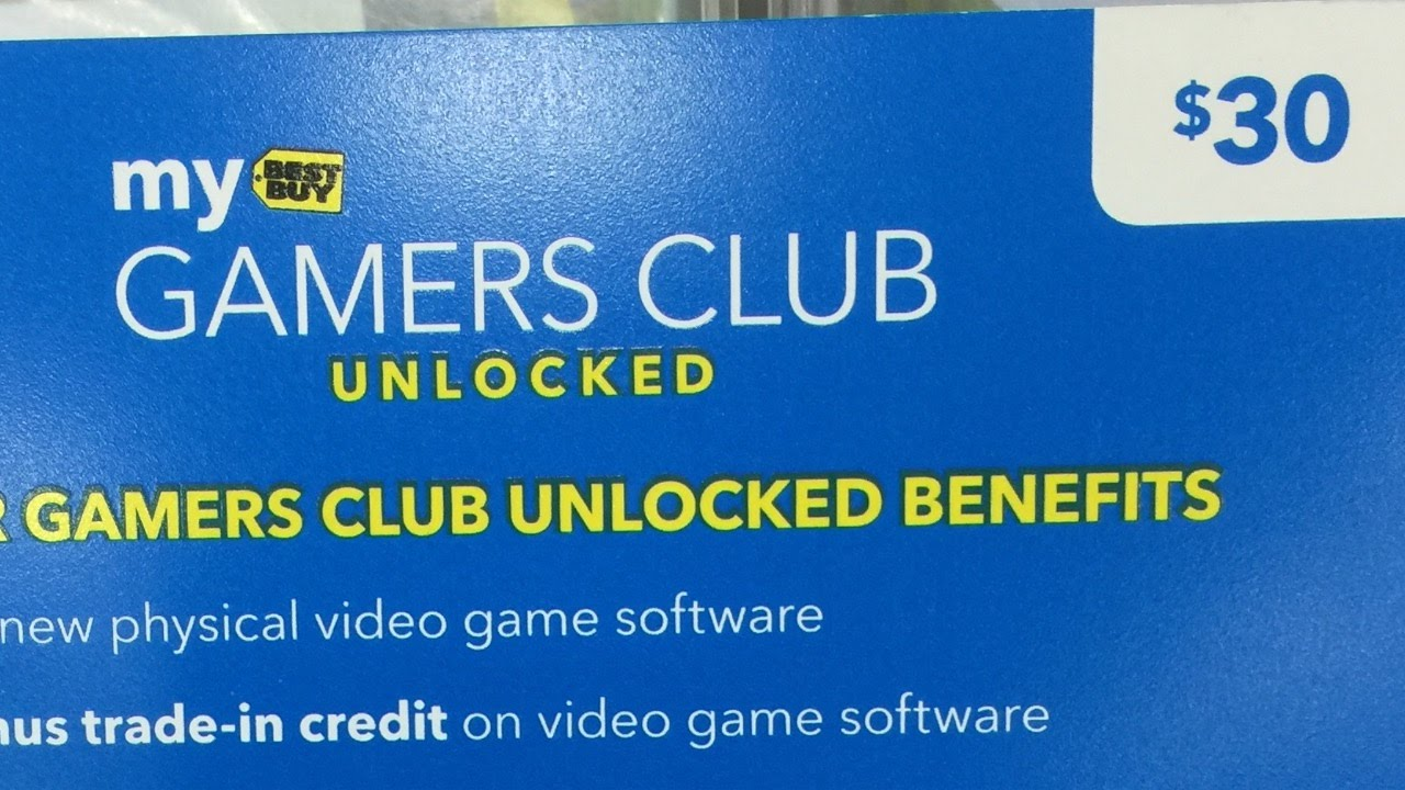 Best buy gamers club unlocked activation
