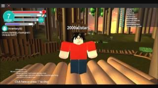 Sobrevivendo na floresta! | Roblox: ilha