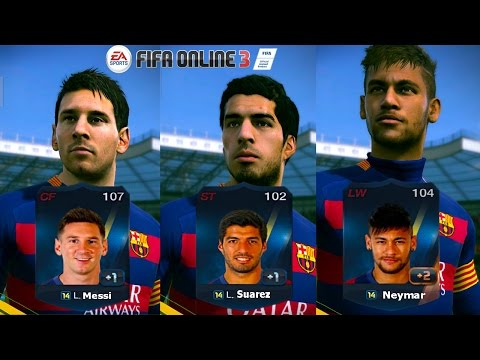 FIFA Online 3 - รีวิว MSN [14T] [NEW ENGINE]