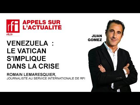 Venezuela : le Vatican s'implique dans la crise