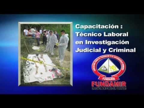 FUNDAMIR TECNICO EN INVESTIGACION JUDICIAL Y CRIMINAL