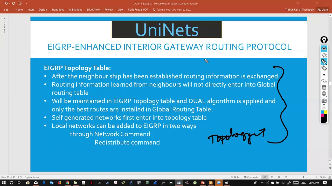 CCNP R&S (300 - 101) EIGRP - Topology Table Concept in Detail