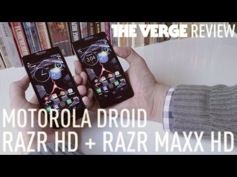 Droid RAZR HD + RAZR Maxx HD review