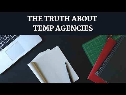 Why You SHOULD Work at TEMP AGENCIES | My Temp Work Experience