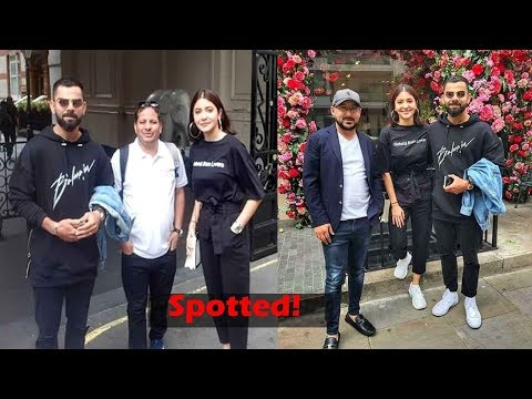 Anushka Sharma and Virat Kohli twin in black as they enjoy another day out in London Mp3