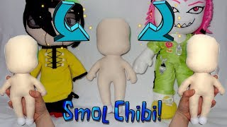 SO LITTLE| How to make a smol chibi plushie base| Tutorial by Cloctor Creations