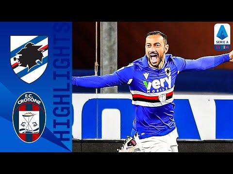 Sampdoria 3-1 Crotone | Ranieri conquista i tre punti e sale al decimo posto | Serie A TIM