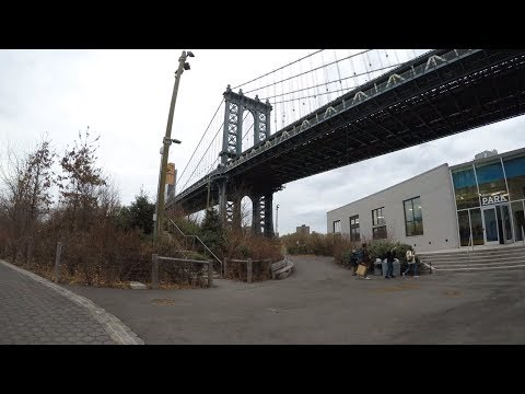 ⁴ᴷ Walking Tour of DUMBO, Brooklyn Bridge Park, and Brooklyn Heights, NYC