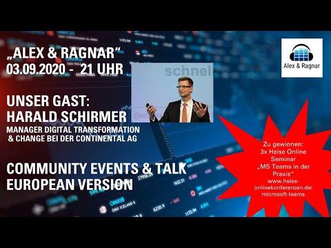 """""""Alex & Ragnar"""" Live Show am 3.9.2020 mit Harald Schirmer"""