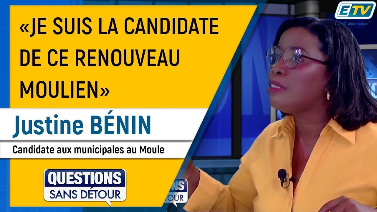 Questions Sans Détour avec Justine BÉNIN