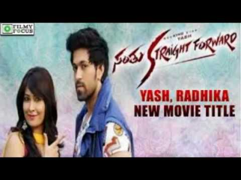 Yash New Movie - Santu Straight Forward...