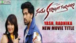 Yash New Movie - Santu Straight Forward First look 2016