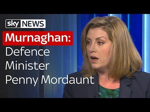 Defence Minister Penny Mordaunt MP On EU Referendum | Murnaghan