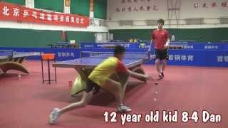 Dan vs 12 year old wonderkid from China!