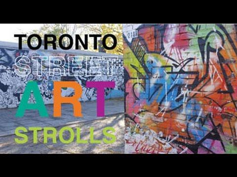 Toronto Street Art Strolls: Follow the guide...