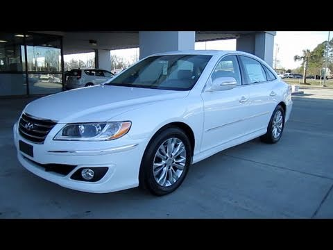 2011 Hyundai Azera Limited Start Up, Engine, and In Depth Tour