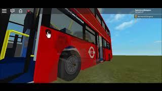 Roblox Enviro 400 MMC Go Ahead London EH162-170 Showcase