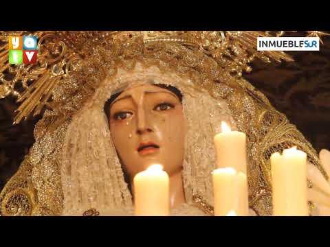 Salida de María Santísima de la Amargura Semana Santa Algeciras 2019 Jueves Santo