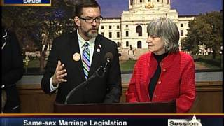 Same-Sex Marriage Bill Introduced