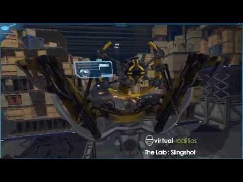 The Lab:  Slingshot Gameplay - VR Lounge