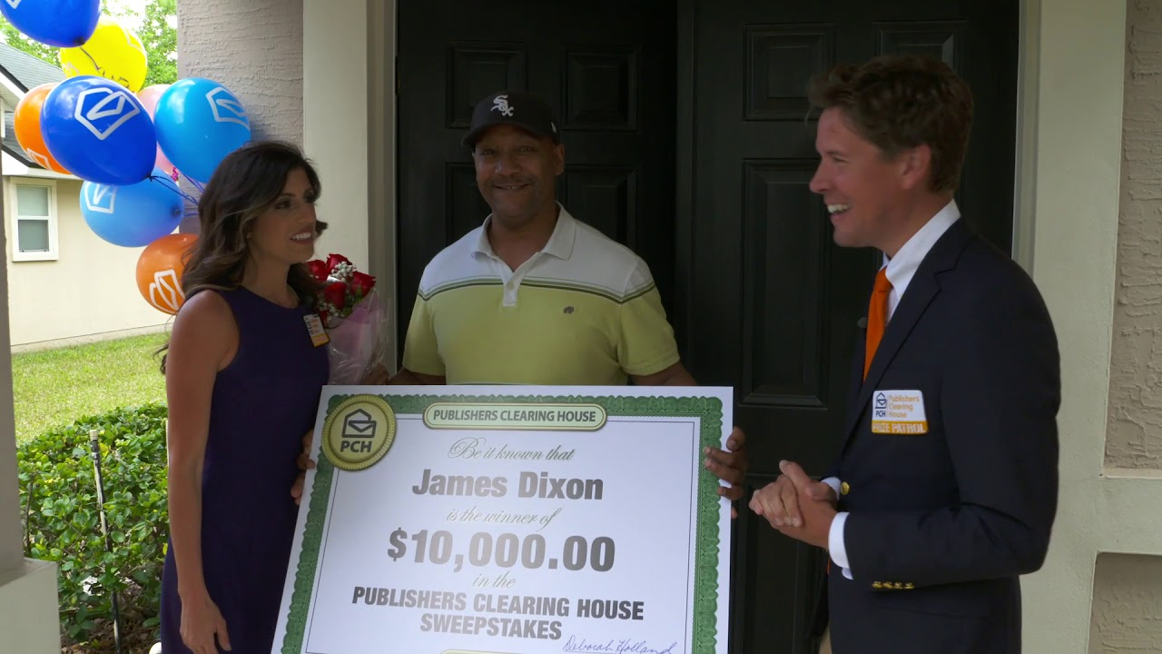 Publishers Clearing House Winners: James Dixon From Jacksonville, FL Wins  $10,000