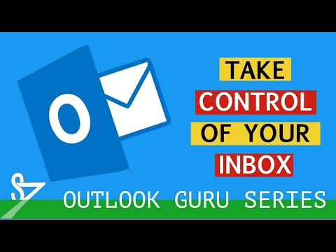 Outlook Time Management Tutorial Part 1 - Email Management
