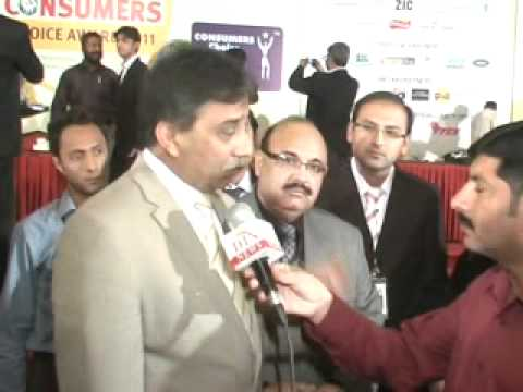 7th CONSUMER ASSOCIATION AWARDS,RAZA HAROON INTERVIEW BY MAHER HAMEED